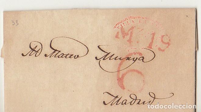 PALENCIA A MADRID. 1839 (Filatelia - Sellos - Prefilatelia)