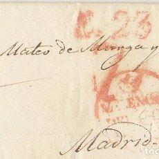Sellos: VALENCIA A MADRID. 1829. Lote 169681012
