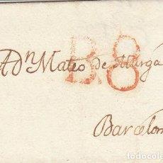 Sellos: MADRID A BARCELONA. 1824.. Lote 170015464