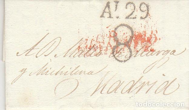 BARCELONA A MADRID.1825. (Filatelia - Sellos - Prefilatelia)