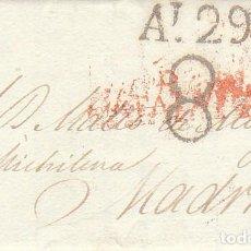 Sellos: BARCELONA A MADRID.1825.. Lote 170016164