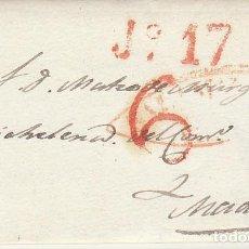 Sellos: VILLAR DEL PROFETA A MADRID. 1839.. Lote 170107720