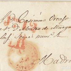 Sellos: AZUTÁN A MADRID 1851.. Lote 170109288