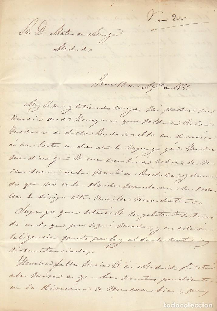 Sellos: JAEN a MADRID . 1833. - Foto 2 - 170110164