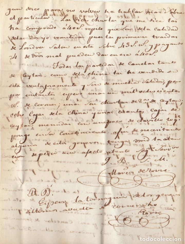 Sellos: BILBAO a MADRID. 1829. - Foto 3 - 170197088