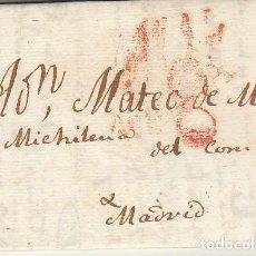Sellos: BILBAO A MADRID. 1829.. Lote 170198336