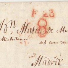 Sellos: BILBAO A MADRID. 1829.. Lote 170199028
