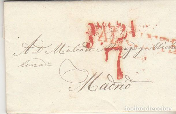 ALICANTE A MADRID. 1829. (Filatelia - Sellos - Prefilatelia)