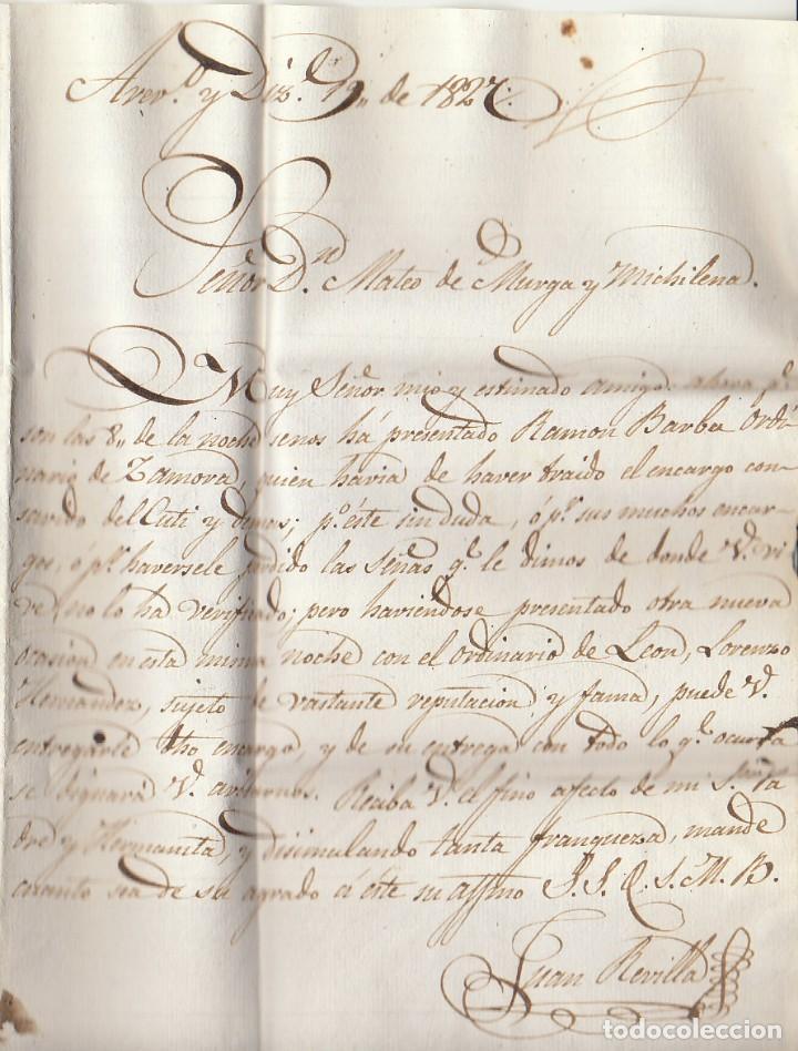 Sellos: AREVALO a MADRID 1827. - Foto 2 - 170297960