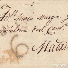 Sellos: GUAZA A MADRID 1824.. Lote 170302040