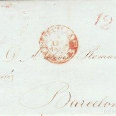 Sellos: SEVILLA A BARCELONA. 1843.. Lote 171193182