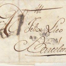 Sellos: ZARAGOZA A BARCELONA. 1814.. Lote 171792093
