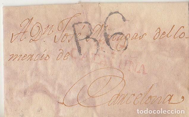 GERONA A BARCELONA. 1818. (Filatelia - Sellos - Prefilatelia)