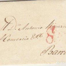 Sellos: MADRID A BARCELONA. 1827.. Lote 171999124