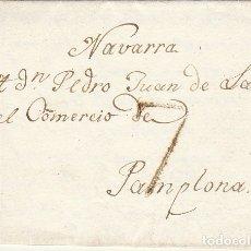 Sellos: A PAMPLONA.1825.. Lote 172702339
