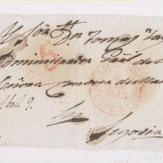 Sellos: PREFILATELIA. FRONTAL. VILLACASTÍN, SEGOVIA. 1843. Lote 172722838