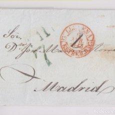 Sellos: PREFILATELIA. LLERENA, BADAJOZ, EXTREMADURA. 1843. Lote 172725314