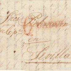 Sellos: CADIZ A SEVILLA. 1834.. Lote 172780484
