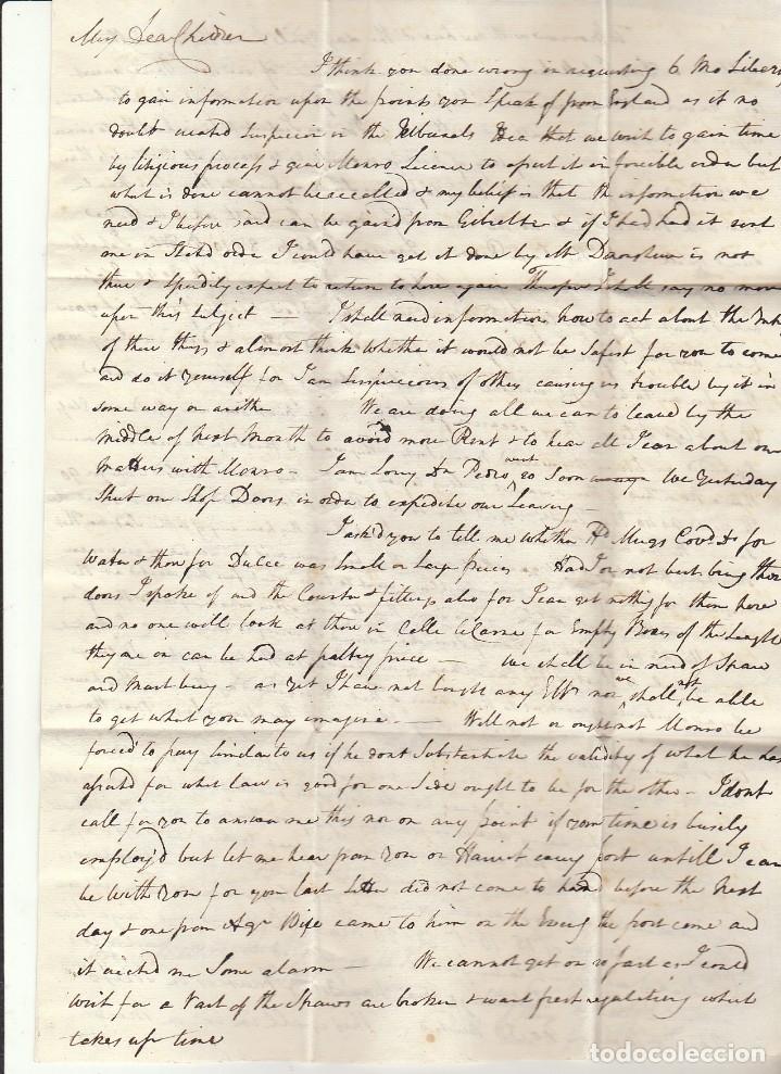 Sellos: CADIZ a SEVILLA . 1832. - Foto 2 - 172781153
