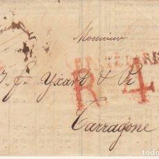 Sellos: PARIS A TARRAGONA. 1827.. Lote 173245089