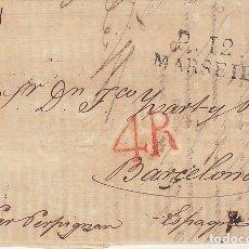 Sellos: MARSELLA A BARCELONA.1828.. Lote 173400693