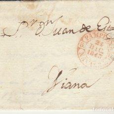 Sellos: PAMPLONA A VIANA. 1843.. Lote 173401393