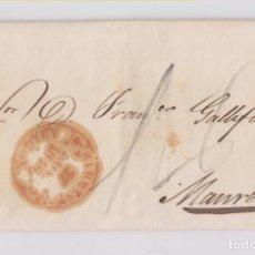 Francobolli: PREFILATELIA. CARTA ENTERA. BARBASTRO, HUESCA, A MANRESA. 1846. BAEZA. Lote 173939490