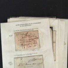 Sellos: EJÉRCITOS FRANCÉS EN ESPAÑA, 1808-1831, COLECCIÓN DE OCHO CARTAS CON DISTINTAS MARCAS,. Lote 174094258