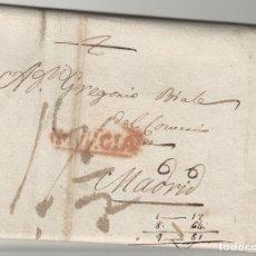 Sellos: MURCIA-CARTAGENA / MADRID AÑO 1816 -- CARTA PREFILATELIA D.P Nº 21. Lote 175432657