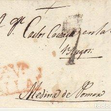 Sellos: VALLADOLID A MEDINA DE POMAR. 1822. Lote 175503762