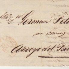 Sellos: LLERENA A ARROYO DEL PUERCO. 1846. Lote 175504040