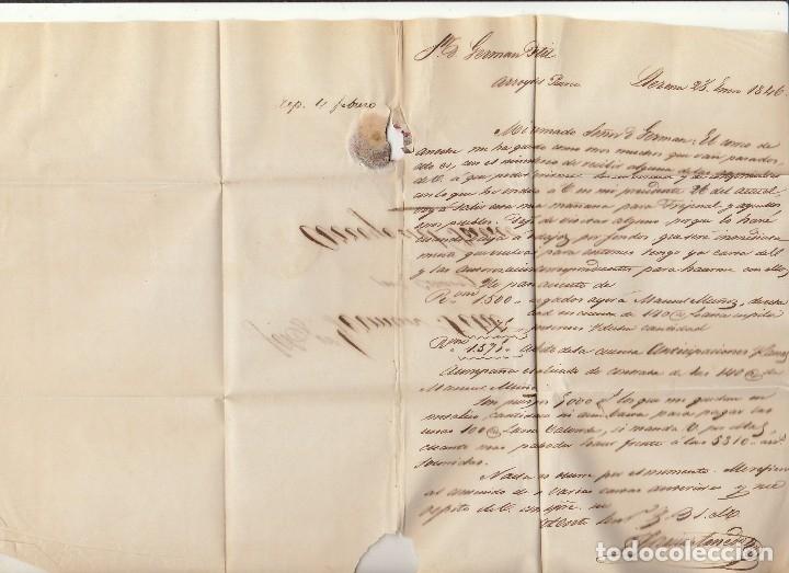 Sellos: LLERENA a ARROYO del PUERCO. 1846 - Foto 2 - 175504040