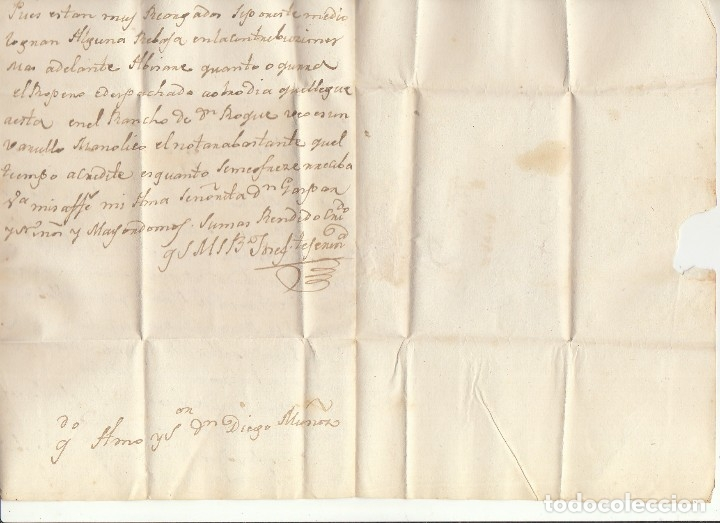 Sellos: VILLACASTIN a CIUDAD REAL.1830. - Foto 3 - 175504809