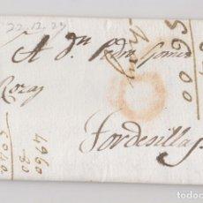 Sellos: PREFILATELIA. CARTA ENTERA. MADRID A TORDESILLAS, VALLADOLID. 1829. Lote 176223118