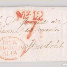 Francobolli: PREFILATELIA. CARTA ENTERA. JAÉN. 1838. Lote 179049141