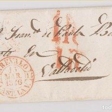 Sellos: PREFILATELIA. CARTA ENTERA. FONTIVEROS. 1846. BAEZA ARÉVALO, ÁVILA. Lote 179077520