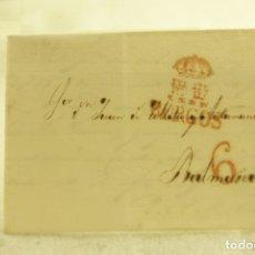 Sellos: BURGOS 1833 CARTA COMPLETA Y BUEN ESTADO. Lote 181338881