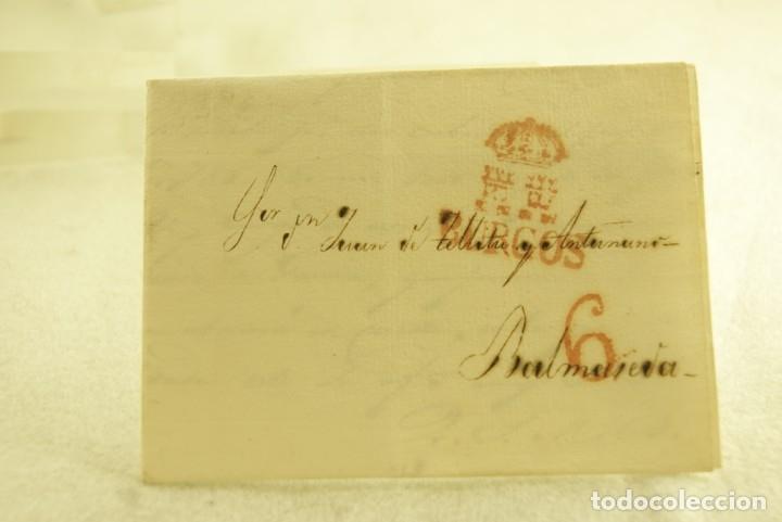 Sellos: BURGOS 1833 CARTA COMPLETA Y BUEN ESTADO - Foto 2 - 181338881