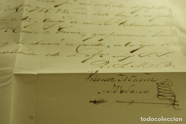 Sellos: BURGOS 1833 CARTA COMPLETA Y BUEN ESTADO - Foto 4 - 181338881