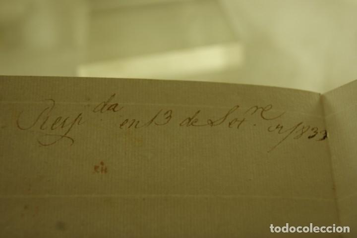 Sellos: BURGOS 1833 CARTA COMPLETA Y BUEN ESTADO - Foto 5 - 181338881