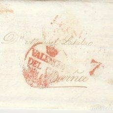 Sellos: VALENCIA A BARCELONA. 1832.. Lote 181758306