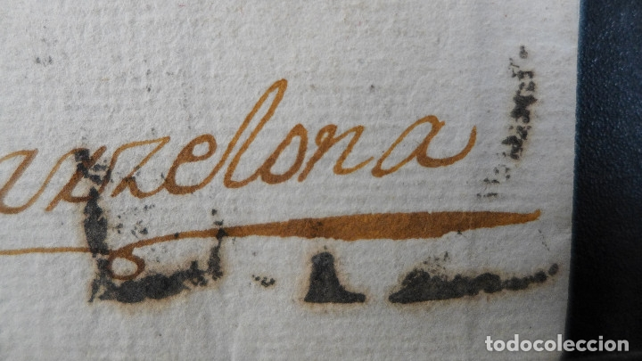 Sellos: CARTA PREFILATELICA DE GRANADA A BARCELONA MARCA EN ROJO ANDALUCIA BAXA Y EN NEGRO NBE6 - Foto 2 - 183169446