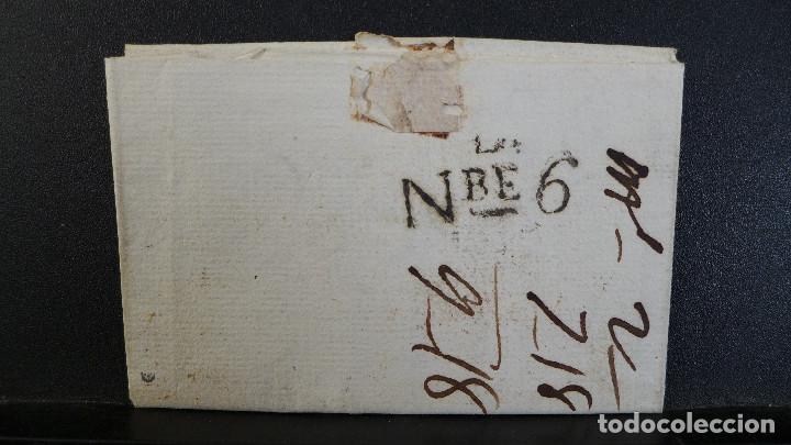 Sellos: CARTA PREFILATELICA DE GRANADA A BARCELONA MARCA EN ROJO ANDALUCIA BAXA Y EN NEGRO NBE6 - Foto 4 - 183169446