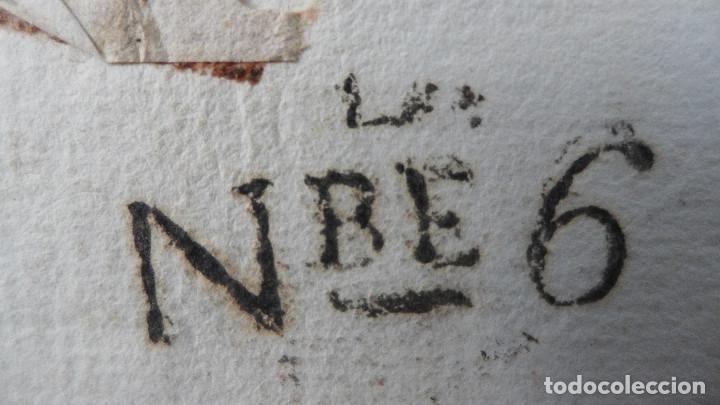 Sellos: CARTA PREFILATELICA DE GRANADA A BARCELONA MARCA EN ROJO ANDALUCIA BAXA Y EN NEGRO NBE6 - Foto 5 - 183169446