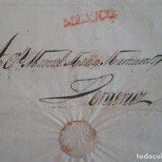 Sellos: CARTA CIRCULADA DE MEXICO A VERACRUZ 1827 MARCA MEXICO. Lote 183813231