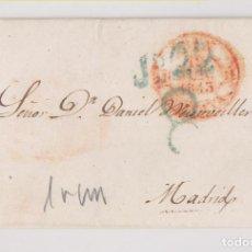 Sellos: PREFILATELIA. ENVUELTA. IRÚN, GUIPÚZCOA, 1843. BAEZA. PAÍS VASCO. Lote 183861241
