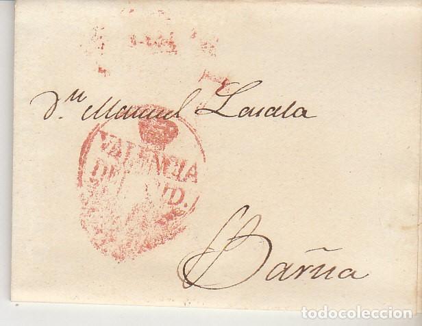 VALENCIA A BARCELONA. 1834 (Filatelia - Sellos - Prefilatelia)