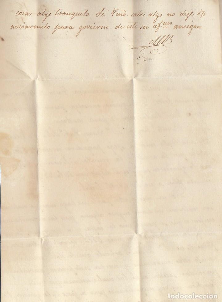 Sellos: VALENCIA a BARCELONA. 1832 - Foto 4 - 184094247