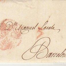 Sellos: VALENCIA A BARCELONA. 1832. Lote 184904997