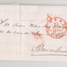 Selos: PREFILATELIA. CARTA ENTERA. BAEZA CUENCA DE LUJO. 1844. Lote 189378496